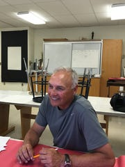 That smile comes easily to Bob Zanot, soon-to-be-retired Chenango Valley educator and coach.