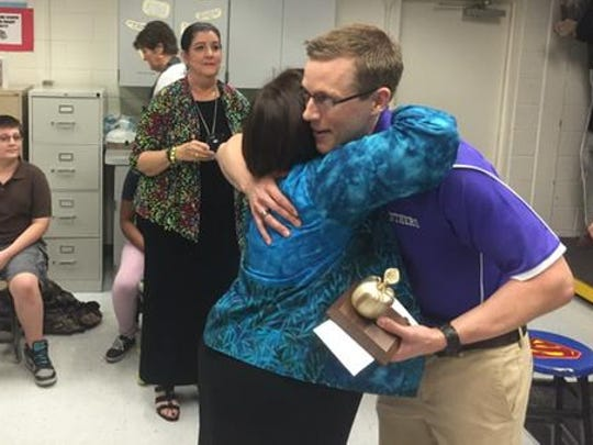 Cypress Lake Middle theater teacher Keith White is