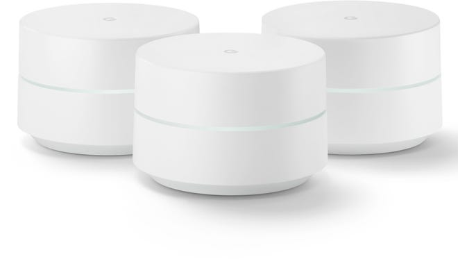 Google has a MESH system of its own, to help better a strong wireless signal throughout the home.