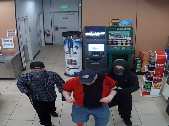 Loveland Police are seeking suspects in a Wednesday morning 7-Eleven robbery that they believe may be connected to a recent string of crimes.