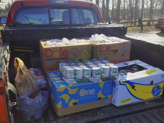 This year's Ice Bowl yielded over $1,400 and more than 540 pounds of food for Food Finders Food Bank.