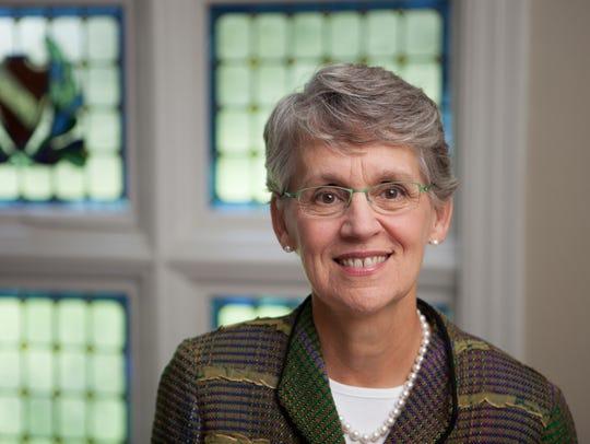 Catharine Bond Hill was the 10th president of Vassar
