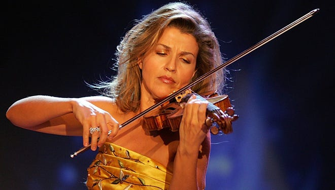 Violinist Anne-Sophie Mutter has won four Grammy Awards during her 40 years on the stage and in the studio. She began when she was 13.