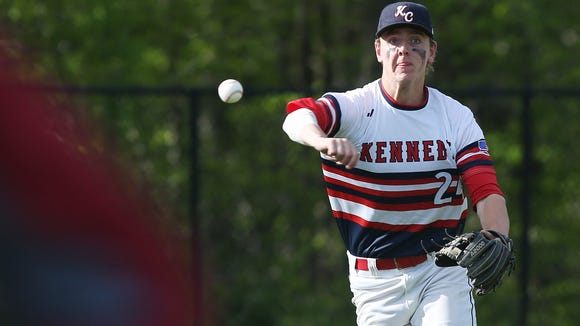 Kennedy Catholic defeated Cardinal Hayes 9-3 in boys baseball action at Kennedy Catholic High School in Somers May 10, 2017.