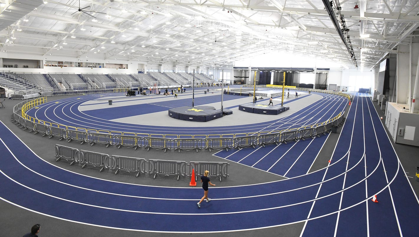 Michigan shows off $168M update of athletics facilities