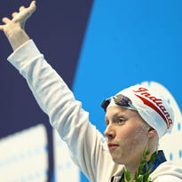 IU's Lilly King breaks own American record in NCAA swimming