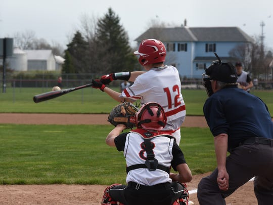SJCC's Logan Black batted .393 with runners in scoring position as a junior.