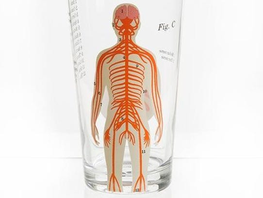 Nervous system glass, $12 at Well Done Goods.