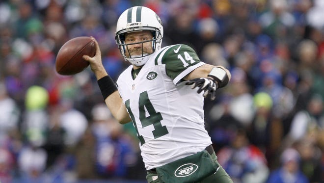 Former Bengals player and current New York Jets quarterback Ryan Fitzpatrick will meet his former team in Sunday's 1 p.m. opener at MetLife Stadium.