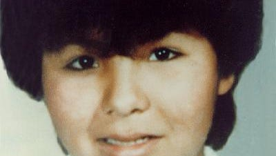 Sharon Baldeagle was reported kidnapped in September of 1984. She was last seen around Casper, Wyoming. She was 12 at the time of this photo.