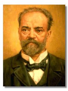 Czech composer of the Romantic period, Antonin Leopold Dvorak (1841-1904)
