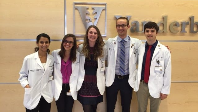 Monisha Bhatia, Margaret Axelrod, Emily Holmes, Mitchell Hayes and Connor Beebout, Vanderbilt University School of Medicine Chapter of Students for a National Health Program and Meharry Medical College Chapter of Students for a National Health Program.
