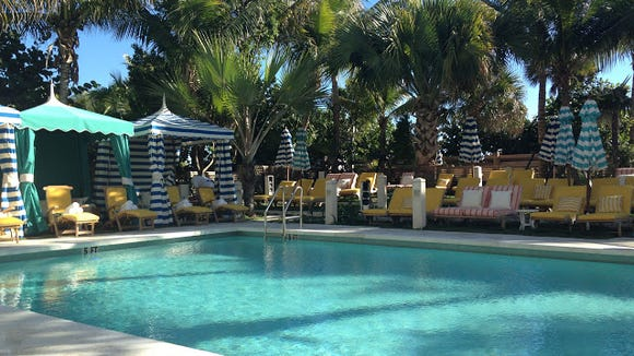 One Of Two Pools At The Thompson Miami Beach Hotel