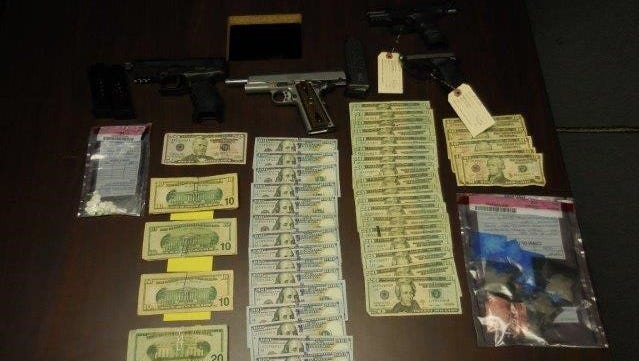 Firearms and more than $2,500 were found when Natchitoches Multi-Jurisdictional Drug Task Force agents served a search warrant at the home of suspect Ryan L. French, 36, of Natchitoches.