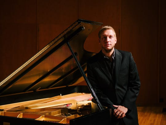 Dr. Stijn De Cock will perform with the Central Wisconsin
