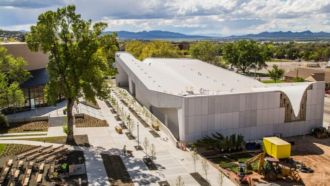 The Southern Utah Museum of Art at the Beverley Taylor Sorenson Center for the Arts, Tuesday, May 17, 2016.