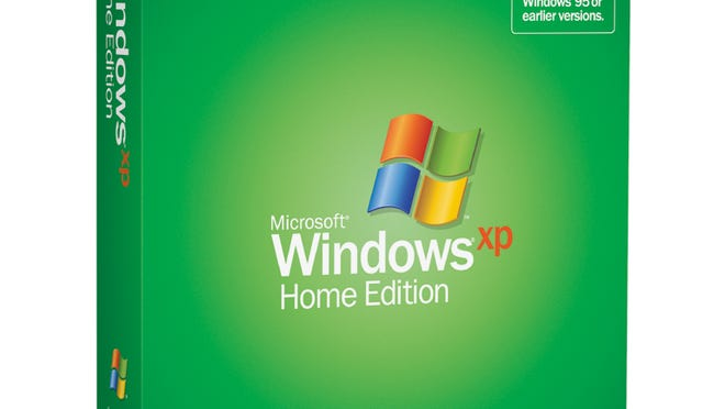 Microsoft's Windows XP home edition.