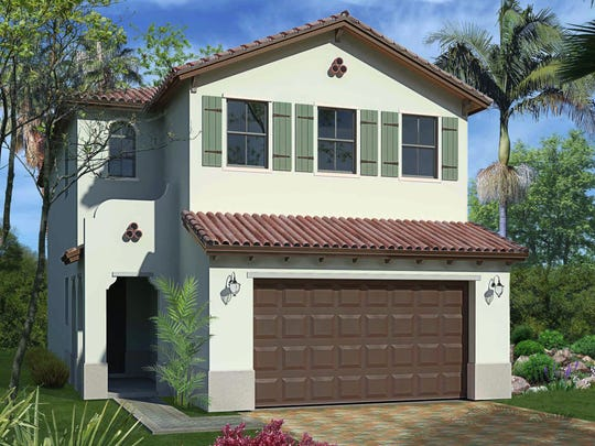 The 2,529-square-foot Doheny floor plan at Fronterra has three bedrooms and 2.5 baths.