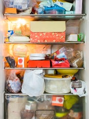 A stuffed refrigerator can start out with the best