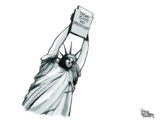 Cartoon for Jan. 30, 2017.