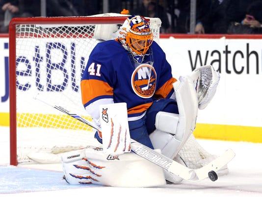 new arrival 1fcbd 7ddee Jaroslav Halak placed on waivers by Islanders