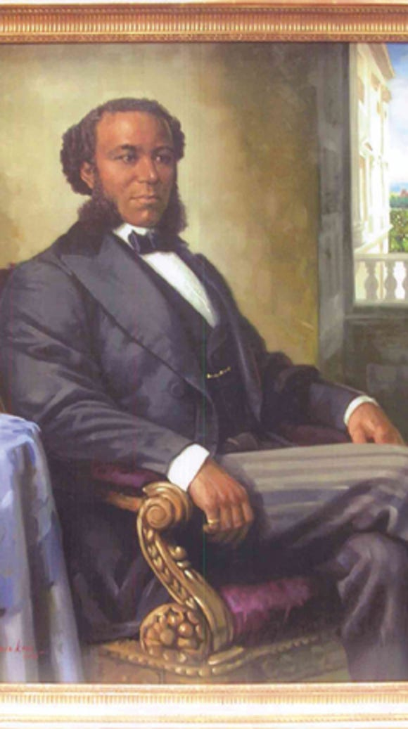 Joseph H. Rainey from South Carolina was the first