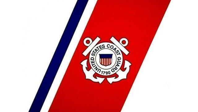 U.S. Coast Guard logo.