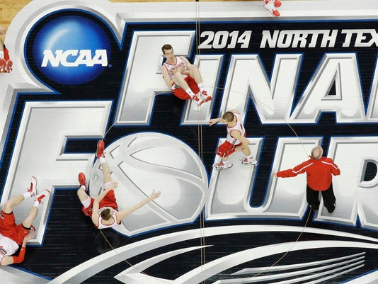 NCAA Wisconsin Final Four Basketball