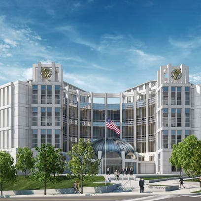 New look: $195 million Nashville federal courthouse to start rising by next summer