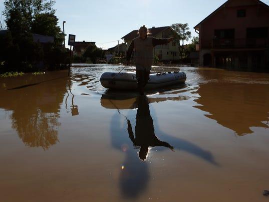 Bosnia flooding