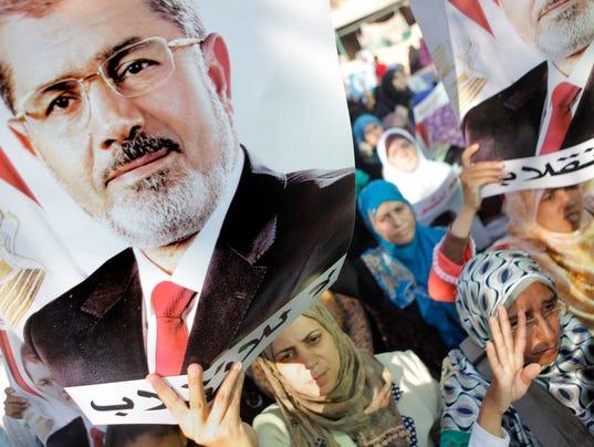 Egypt Morsi protest