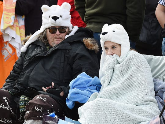 """Freezin For A Region"" was the motto of the 24th Annual Lewes Polar Bear Plunge for Special Olympics held in Rehoboth Beach on Sunday."
