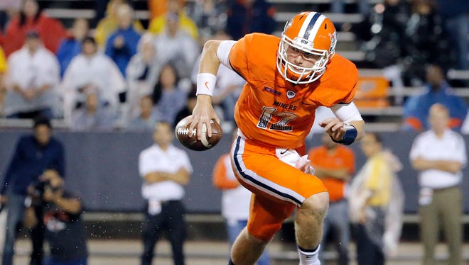 UTEP quarterback Ryan Metz will start Saturday's game against Louisiana Tech because of an injury to Mack Leftwich.