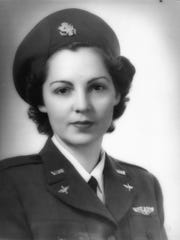 June Braun Bent was a WASP pilot during World War II. June's daughter Betsy Bent is a long-time Asheville resident.