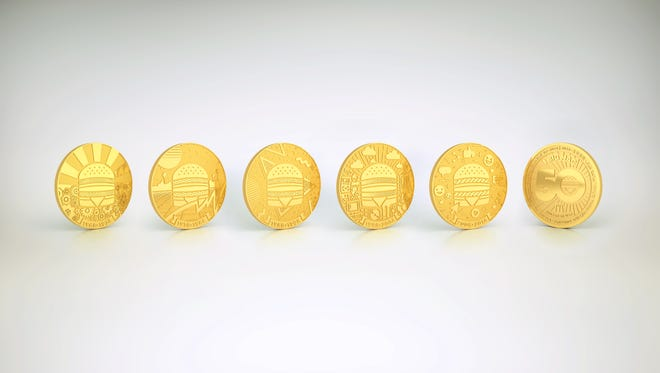Here a peek at the 50th anniversary Big Mac coin collection.
