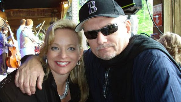 Festival Director Milton Harkey and Vickie Hensley-King