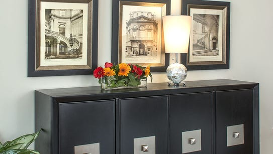 Downsizing can call for new furnishings, or for old