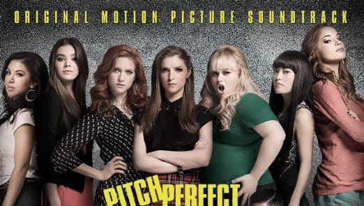 """Five Green Bay Packers players get vocal credits for two of the 18 tracks on the """"Pitch Perfect 2"""" soundtrack."""