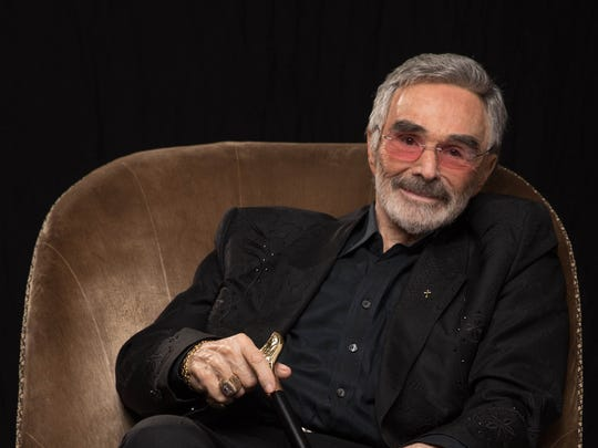 Burt Reynolds, as photographed on March 21, 2018, during an interview with USA TODAY.