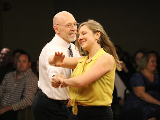 Dave Moore and his daughter Alex perform at Season