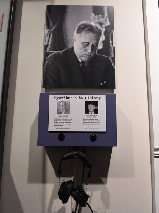 FDR Library & Museum Infamy Exhibit