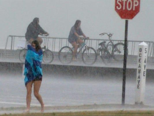 Monmouth County rain