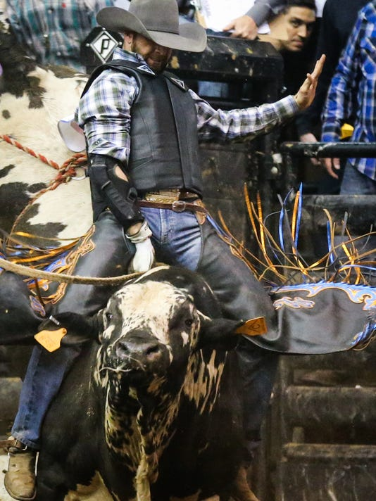 San Angelo Stock Show and Rodeo Cinch Chute-Out 2018
