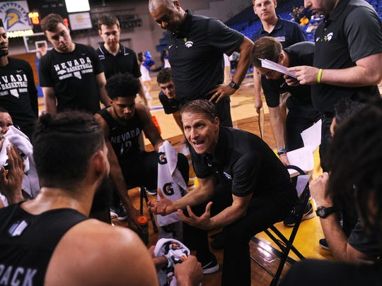 Nevada head coach Eric Musselman said he learned his Xs and Os from the NBA and roster and budget management in the professional minor leagues.
