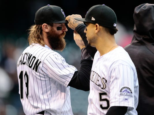 MLB: Miami Marlins at Colorado Rockies