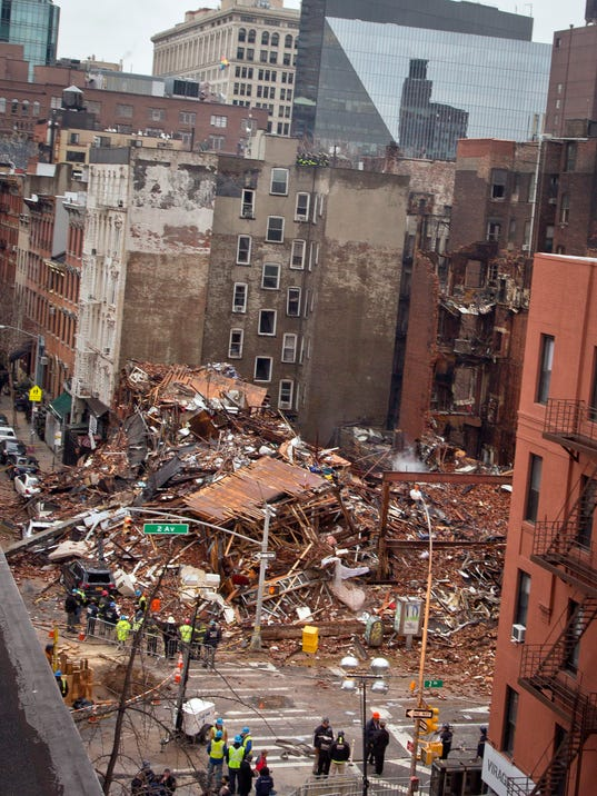 New York Building Collapse Today March