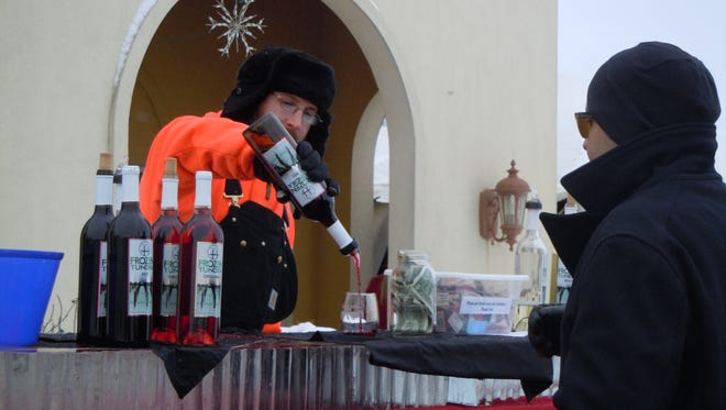 Bundle up and get a firm grip on your wine glass with your gloves. Parallel 44 Vineyard & Winery hosts its seventh annual outdoor Frozen Tundra Wine Fest on Saturday.