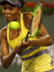 Venus Williams of the United States of America during