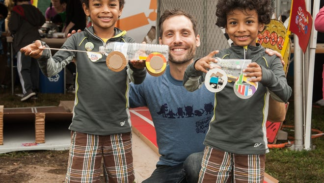 Yanish, a former Pittsford resident, teaches kids to create things out of garbage