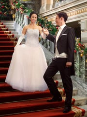 "In the Hallmark movie ""A Royal Christmas,"" starring"